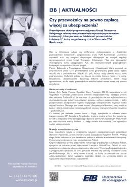EIB | AKTUALNOŚCI