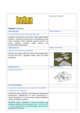 Nowości wystawców Targów BUDMA 2016