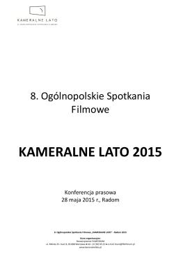 kameralne lato 2015 - Mazowiecka Komenda Wojewódzka Policji z