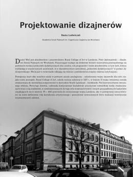 Projektowanie dizajnerów - Instytut Historii Sztuki Uniwersytetu