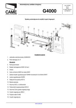 G4000 - Koma – Serwis szlabanów i automatyki bram