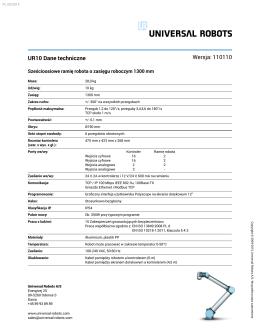 Pobierz PDF - Universal Robots