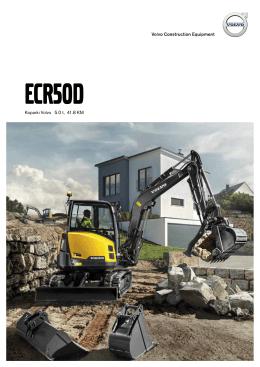 Volvo Brochure Compact Excavator ECR50D Polish