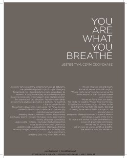 YOU ARE WHAT YOU BREATHE - BIK