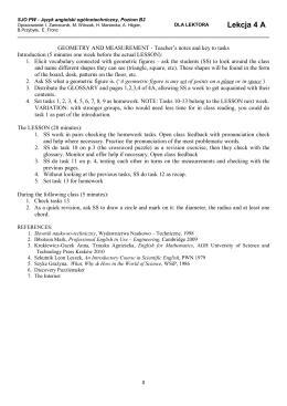 Lekcja 4 A