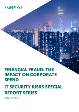 FINANCIAL FRAUD: THE IMPACT ON