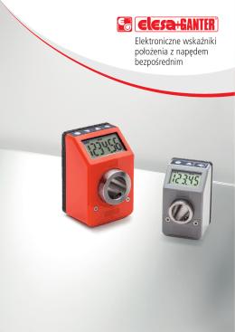 Elektroniczne wskaźniki położenia z napędem - CDM