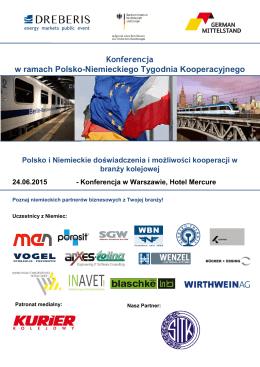 Konferencja w ramach Polsko-Niemieckiego Tygodnia