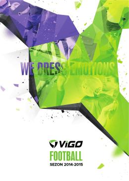 Pobierz katalog - VIGO - stroje sportowe dla Twojej drużyny