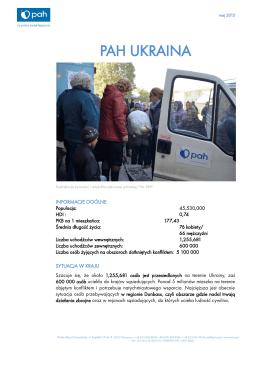 PAH UKRAINA - Polska Akcja Humanitarna
