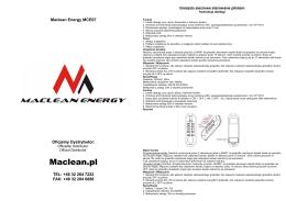 Maclean.pl - Centrum Elektroniki