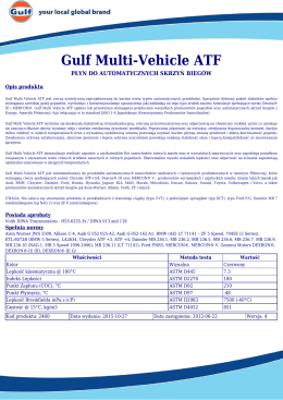Gulf Multi-Vehicle ATF