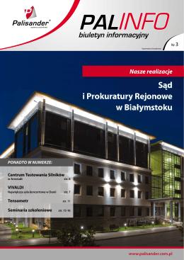 Sąd i Prokuratury Rejonowe w Białymstoku