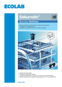 Sekumatic® MultiClean