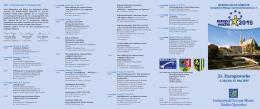 Program 21. Tygodnia Europejskiego 2015 - Europa