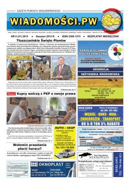 Sierpień 2015 - Wiadomości Powiatu Wołomińskiego