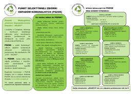 broszura informacyjna pszok