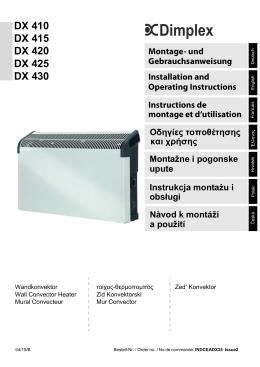 Deutsch - Dimplex