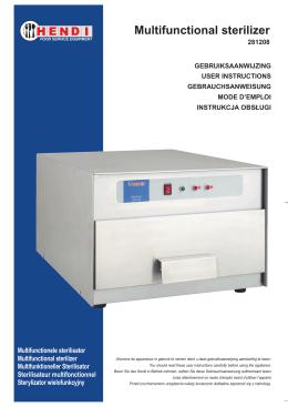 Multifunctional sterilizer