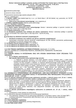 pobierz PDF - Ergo Arena