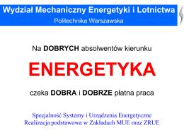 Prezentacja SUE 2015 - Politechnika Warszawska