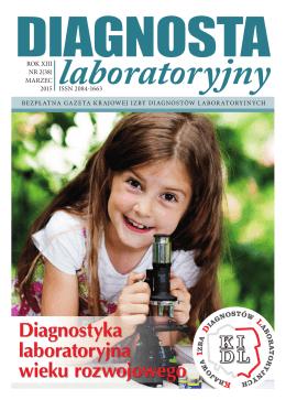 Diagnostyka laboratoryjna wieku rozwojowego