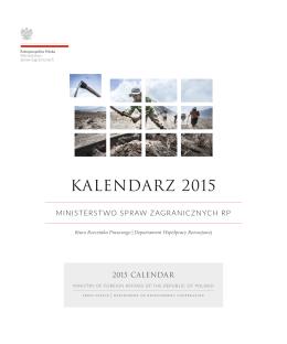 kalendarza wydanego przez DWR we współpracy z