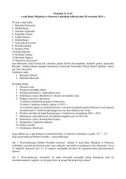 Plik źródłowy - Urząd Miejski Ostrów Lubelski