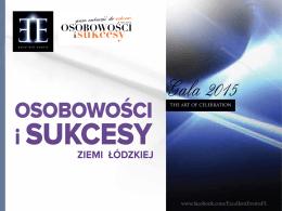 Osobowości i Sukcesy Roku 2015