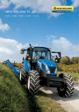 NEW HOLLAND t4 - CNH Industrial
