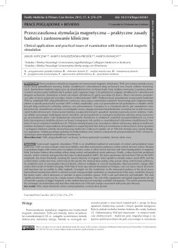 Przezczaszkowa stymulacja magnetyczna – praktyczne zasady