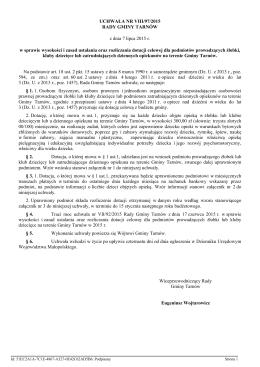uchwała nr viii/97/2015