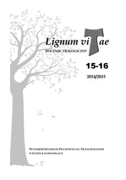 2014/2015 - Seminarium Franciszkańskie