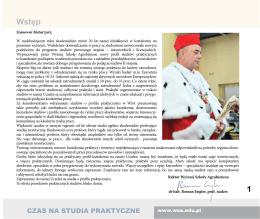 Informator  - Wyższa Szkoła Agrobiznesu w Łomży