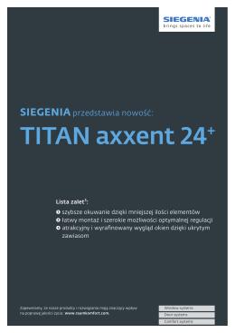 TITAN axxent 24+
