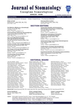 Komitet redakcyjny - Czasopismo Stomatologiczne