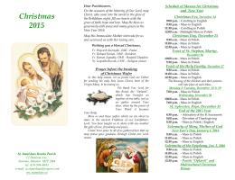 Christmas 2015 - www.stanislaw.ca