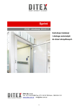 Sprint - Ditex sp. z oo