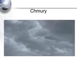Chmury i opady