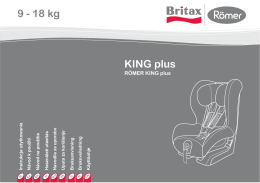 KING plus 9 - 18 kg