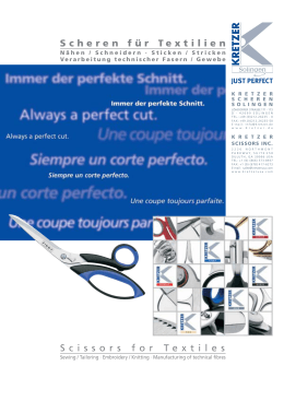 Katalog Textil - Kretzer Scheren