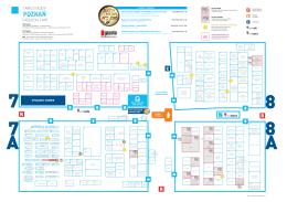 mapa ekspozycji - Targi Mody Poznań