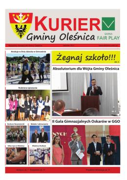 II Gala Gimnazjalnych Oskarów w GGO