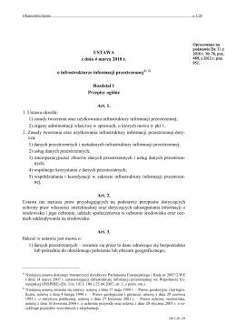 Akt prawny - Internetowy System Aktów Prawnych