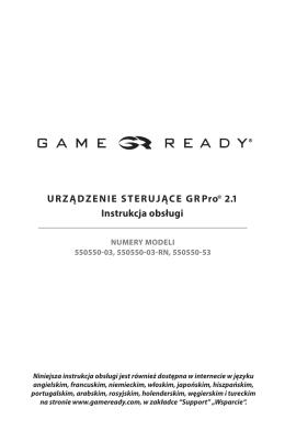 urządzeNie sterujące GrPro 2.1 instrukcja obsługi