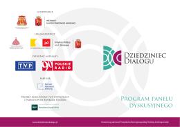 Program panelu dyskusyjnego