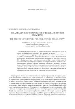 M. Skotnicka, N. Duraj