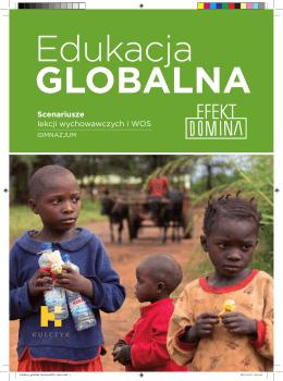 Edukacja Globalna-Efekt Domina – scenariusze lekcji dla gimnazjum