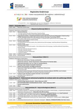 Regionalna Konferencja e-świętokrzyskie – nowa rzeczywistość dla