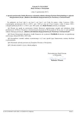 Uchwała Nr XI/114/2015